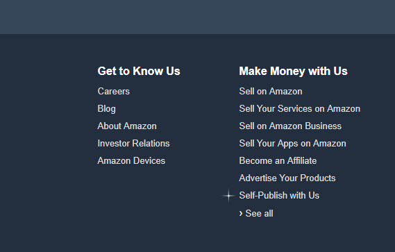 sign up for amazon